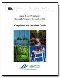 Acid Rain Program : Annual Progress Repo... by Environmental Protection Agency