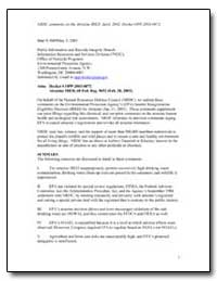 Nrdc Comments on the Atrazine Ired. Apri... by Environmental Protection Agency