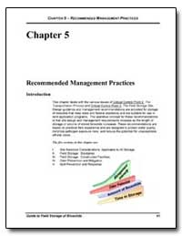 Chapter 5-Recommended Management Practic... by Environmental Protection Agency