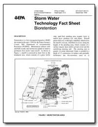 Storm Water Technology Fact Sheet by Environmental Protection Agency
