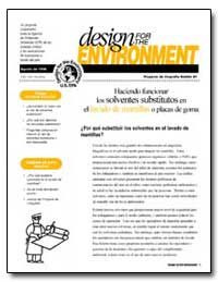 Design for the Environment by Environmental Protection Agency