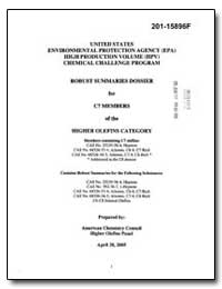 United States Environmental Protection A... by Danner, Daubert T.