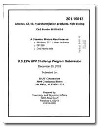 Alkenes, C6-10, Hydroformylation Product... by Environmental Protection Agency