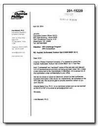 Chevron Phillips Chemical Company Lp by Marashi, Hred, Ph. D.