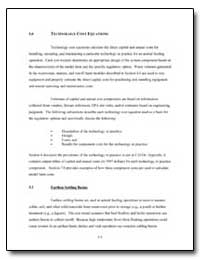 5. 0 Technology Cost Equations by Environmental Protection Agency