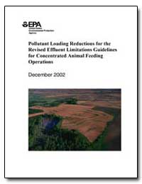 Pollutant Loading Reductions for the Rev... by Whitman, Christine Todd