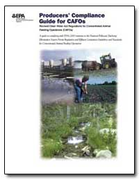 Producers Compliance Guide for Cafos by Environmental Protection Agency