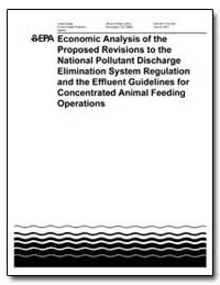Economic Analysis of the Proposed Revisi... by Browner, Carol M.