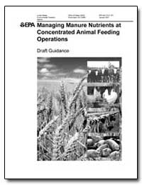 Managing Manure Nutrients at Concentrate... by Environmental Protection Agency