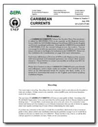 Caribbean Currents by Environmental Protection Agency