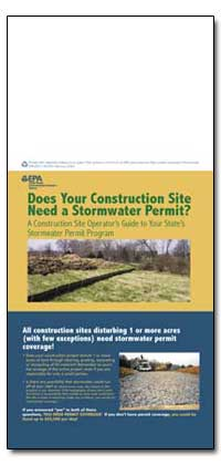 Does Your Construction Site Need a Storm... by Environmental Protection Agency