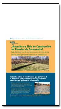 Necesita Su Sitio de Construccion Un Per... by Environmental Protection Agency