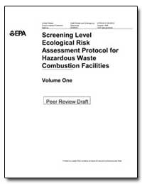 Screening Level Ecological Risk Assessme... by Environmental Protection Agency