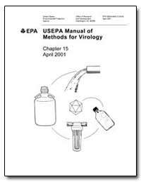Usepa Manual of Methods for Virology by Environmental Protection Agency