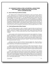 5. 0 Guidance to Regulatory Authorities,... by Environmental Protection Agency