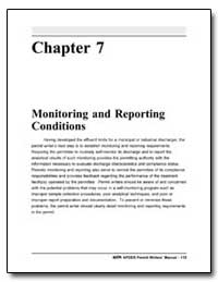 Chapter 7 Monitoring and Reporting Condi... by Environmental Protection Agency