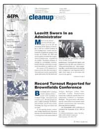 Cleanupnews Leavitt Sworn in as Administ... by Environmental Protection Agency
