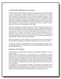 Antecedentes E Historia de las Colonias by Environmental Protection Agency