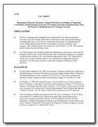 Reopening of Emissions Inventory Comment... by Environmental Protection Agency