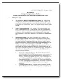 Revised Draft Subobjective Implementatio... by Environmental Protection Agency