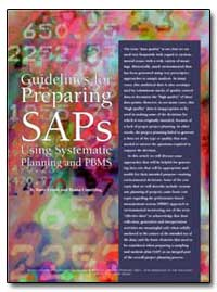 Guidelines for Preparing Saps Using Syst... by Lesnik, Barry