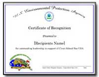 United States Environmental Protection A... by Program, Janet Cohen
