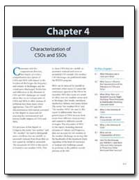 Chapter 4 Characterization of Csos and S... by Environmental Protection Agency