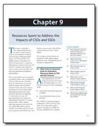 Chapter 9 Resources Spent to Address the... by Environmental Protection Agency