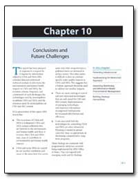 Chapter 10 : Conclusions and Future Chal... by Environmental Protection Agency