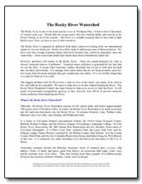 The Rocky River Watershed by Environmental Protection Agency