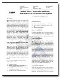 Funding Water Conservation and Reuse wit... by Environmental Protection Agency