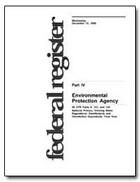 Part IV United States Environmental Prot... by Environmental Protection Agency