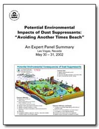 Potential Environmental Impacts of Dust ... by Piechota, Thomas, Ph. D.