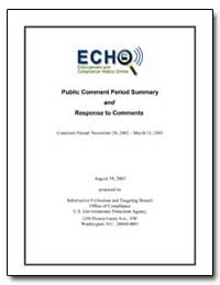 Echo Enforcement and Compliance History ... by Environmental Protection Agency