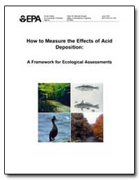 How to Measure the Effects of Acid Depos... by Environmental Protection Agency