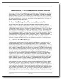 2. 0 Environmental Concerns Addressed by... by Environmental Protection Agency