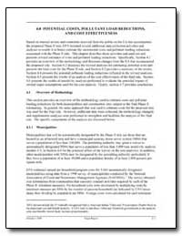 4. 0 Potential Costs, Pollutant Load Red... by Environmental Protection Agency