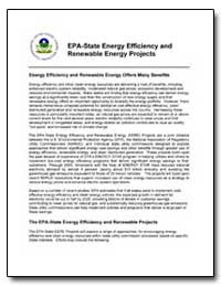 Epa-State Energy Efficiency and Renewabl... by Environmental Protection Agency