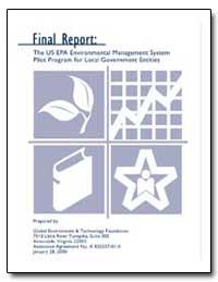 Final Report : The U. S. Epa Environment... by Getf, Craig Ruberti