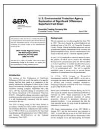 U.S. Environmental Protection Agency Exp... by Environmental Protection Agency