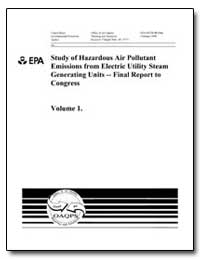 Study of Hazardous Air Pollutant Emissio... by Environmental Protection Agency