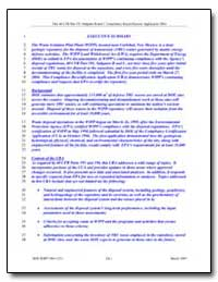 Title 40 Cfr Part 191 Subparts B and C C... by Environmental Protection Agency