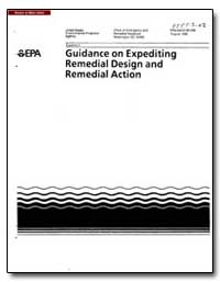 Guidance on Expediting Remedial Design a... by Environmental Protection Agency