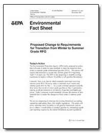 Environmental Fact Sheet by Environmental Protection Agency