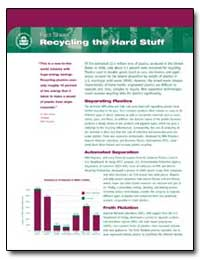 Fact Sheet Recycling the Hard Stuff by Environmental Protection Agency