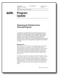 Reducing Air Pollution from Nonroad Engi... by Environmental Protection Agency