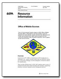 Office of Mobile Sources by Environmental Protection Agency