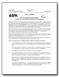 Fact Sheet Environmental Protection Agen... by Environmental Protection Agency