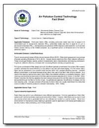 Air Pollution Control Technology Fact Sh... by Environmental Protection Agency