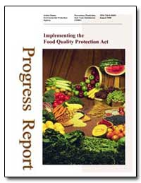 Implementing the Food Quality Protection... by Environmental Protection Agency